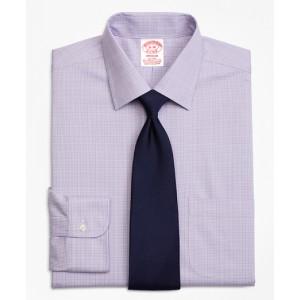 Stretch Madison Classic-Fit Dress Shirt, Non-Iron Glen Plaid