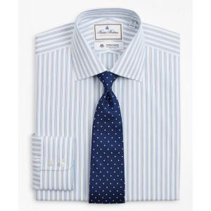 Regent Fitted Dress Shirt, Outline Stripe