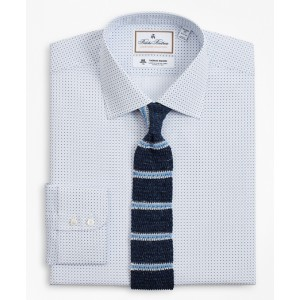 Luxury Collection Regent Fitted Dress Shirt, Franklin Spread Collar Geo Print