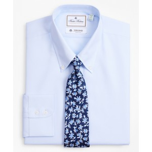 Luxury Collection Milano Slim-Fit Dress Shirt, Button-Down Collar Dobby Links