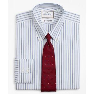 Luxury Collection Milano Slim-Fit Dress Shirt, Button-Down Collar Stripe