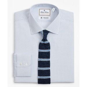 Luxury Collection Milano Slim-Fit Dress Shirt, Franklin Spread Collar Geo Print