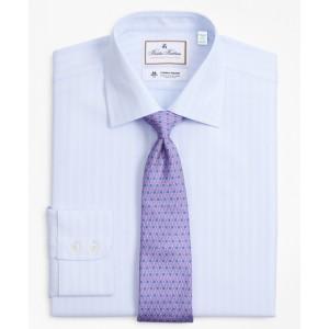 Luxury Collection Milano Slim-Fit Dress Shirt, Franklin Spread Collar Stripe