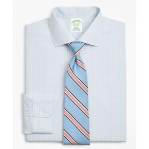Milano Slim-Fit Dress Shirt, Non-Iron Triple-Windowpane