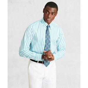 Golden Fleece Regent Fitted Dress Shirt, Button-Down Collar Multi-Stripe Poplin