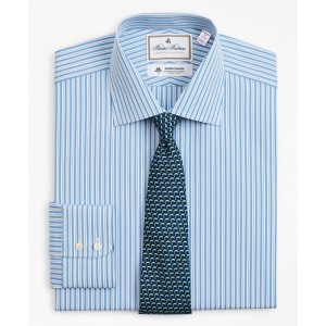 Luxury Collection Madison Classic-Fit Dress Shirt, Franklin Spread Collar Pinstripe