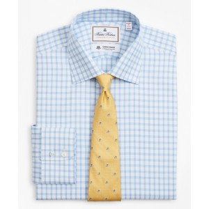 Luxury Collection Madison Classic-Fit Dress Shirt, Franklin Spread Collar Check