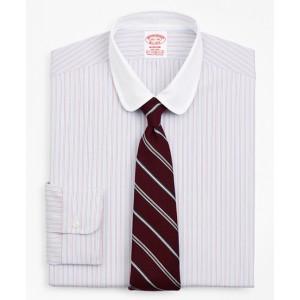 Stretch Madison Classic-Fit Dress Shirt, Non-Iron Double-Stripe
