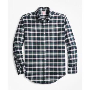 Madison Fit Oxford Tartan Sport Shirt