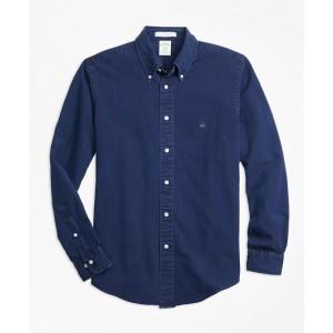 Milano Fit Indigo Dyed Sport Shirt