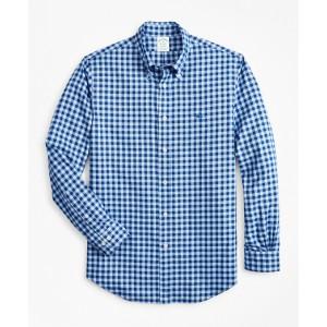 Milano Fit Brushed Gingham Sport Shirt