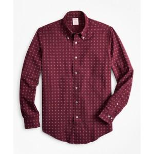 Madison Fit Foulard Print Flannel Sport Shirt
