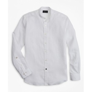 Riccardo Pozzoli for Brooks Brothers: The Collarless Shirt