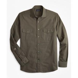 Riccardo Pozzoli for Brooks Brothers: The Military Shirt