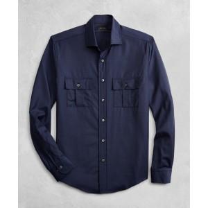 Golden Fleece BrooksTech Two-Pocket Wool Sport Shirt