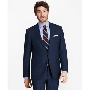 Golden Fleece Regent Fit Plaid Suit