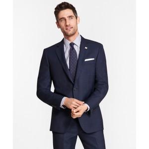 Madison Fit Blue Windowpane 1818 Suit