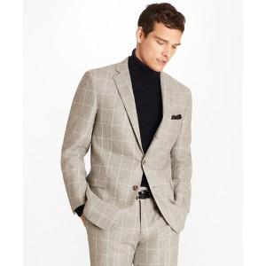 Regent Fit Windowpane Flannel 1818 Suit