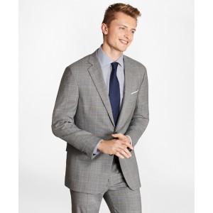 Regent Fit BrooksCool Plaid Suit