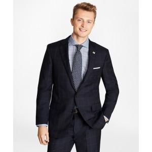 Golden Fleece Regent Fit Windowpane Suit