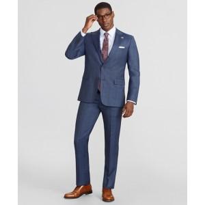 Madison Fit Three-Button Plaid 1818 Suit