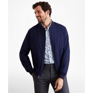 Golden Fleece Merino Wool Bomber Jacket