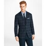 Milano Fit Windowpane Knit Sport Coat
