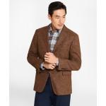 Regent Fit BrooksTweed Brown Herringbone Sport Coat