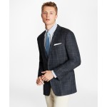 Regent Fit Three-Button Wool Blend Sport Coat