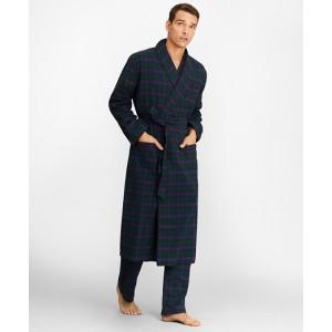 Tartan Flannel Robe