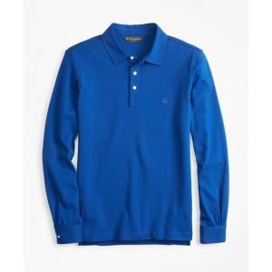 Original Fit Cotton Jersey Long-Sleeve Polo Shirt