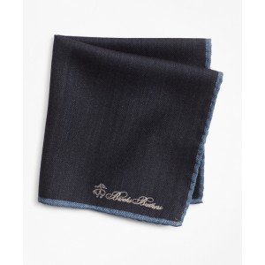 Herringbone Pocket Square