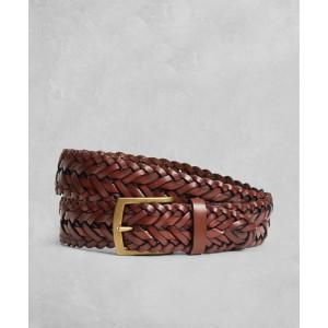 Golden Fleece Braided Leather Belt