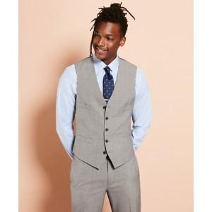 Wool Five-Button Suit Vest