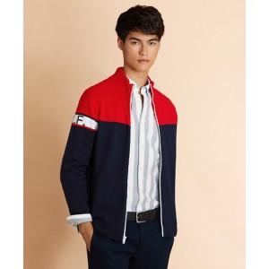 Color-Block Washable Merino Wool jacket