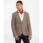 Two-Button Lambswool Tweed Sport Coat
