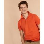 Garment-Dyed Cotton Pique Polo Shirt