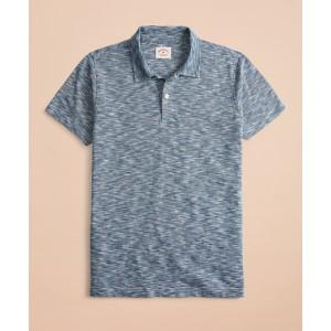 Feeder Stripe Slub Jersey Polo Shirt