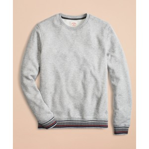 Pique Fleece Crewneck Sweatshirt
