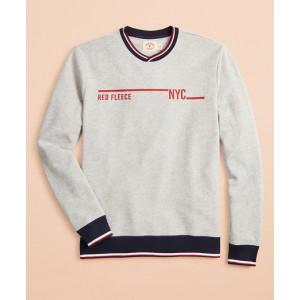 French Terry Red Fleece 1818 Sweatshirt