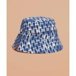 Printed Reversible Madras Bucket Hat