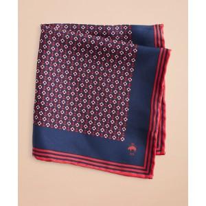 Silk Nautical Pocket Square