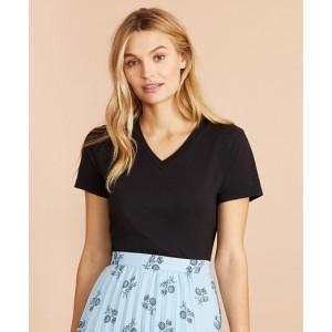 Garment-Dyed V-Neck T-Shirt