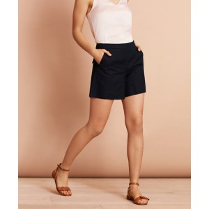 Irish Linen-Cotton Shorts