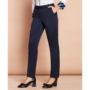 Slim-Fit Stretch Wool Pants