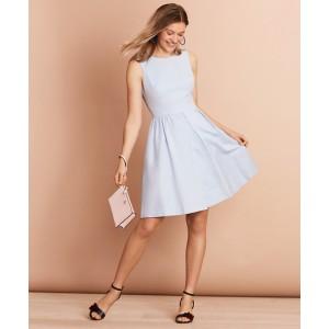 Irish Linen-Cotton A-Line Dress