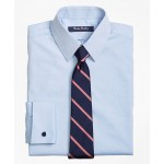 Boys Non-Iron Supima Pinpoint Cotton French Cuff Dress Shirt