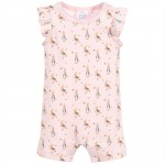 Baby Girls Pink Cotton Shortie