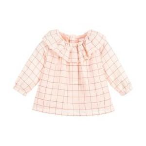 Girls Pink Cotton Blouse