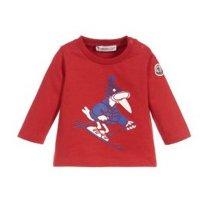 Baby Red Cotton Top